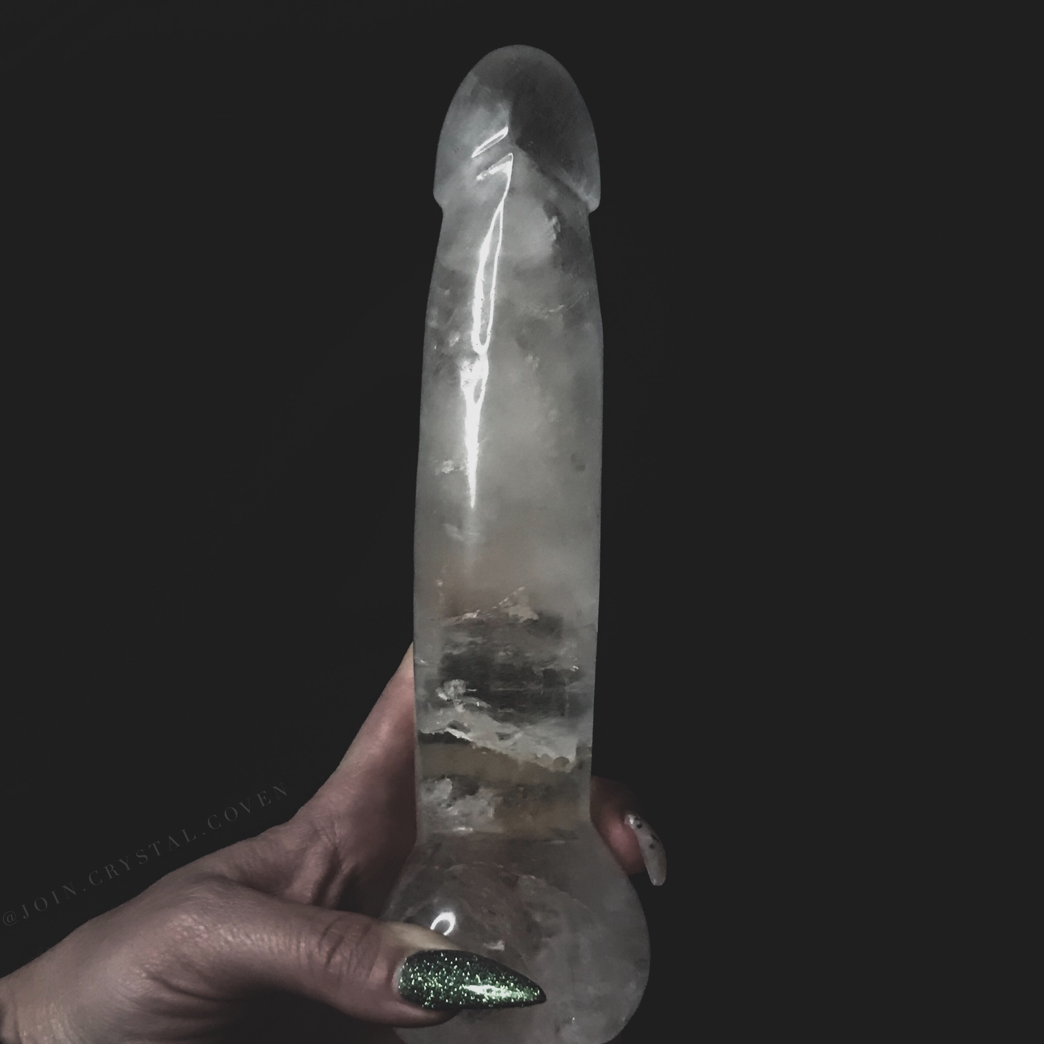XL Clear Quartz D