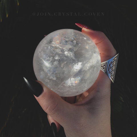 The Witch's Equator Crystal Ball
