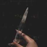 Clear Quartz Athame - The Huntress