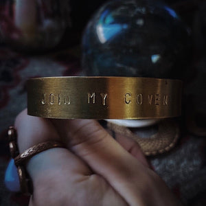 Join My Coven Bracelet