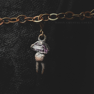 The Amethyst Charm of Rebirth