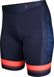 Womens Elite Tri Shorts Blue