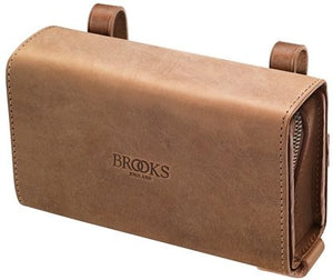 D-Shaped Tool Bag Aged Dark Tan