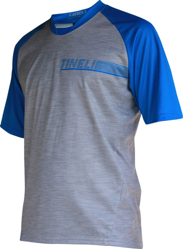 Men's Blue SS Trail Jersey