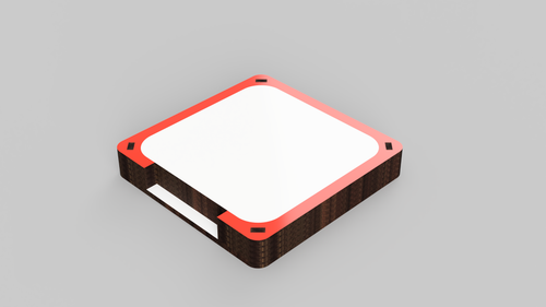 Square Coaster with Lite holder