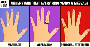 Rules To Wear Rings The Right way