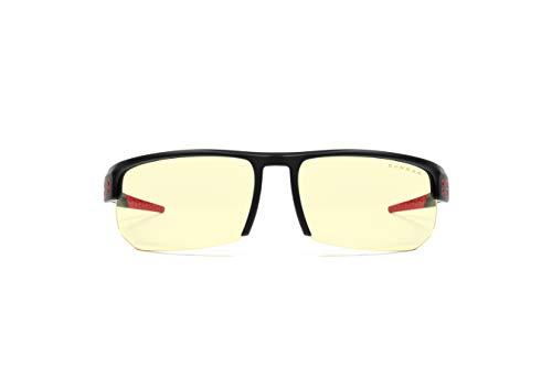 Gaming Glasses | Blue Light Blocking Glasses | Torpedo Fit/Onyx by Gunnar  | 65% Blue Light Protection, 100% UV Light, Anti-Reflective To Protect & Reduce Eye Strain & Dryness