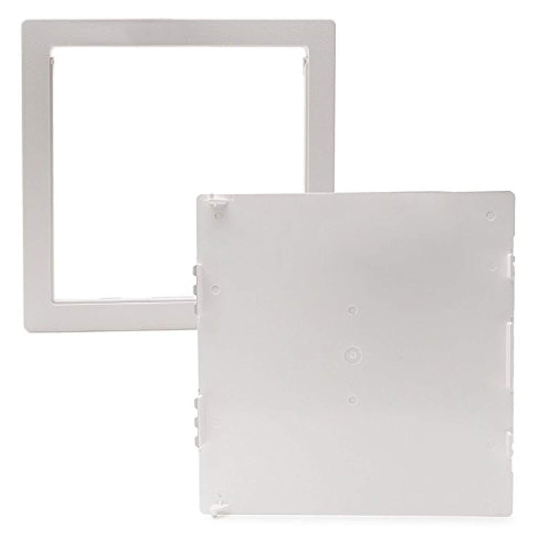 Plumbing access panel - Access panel - 12x12 inch - Access door - With Removable Hinged Door. Durable Plastic - Drywall access panel