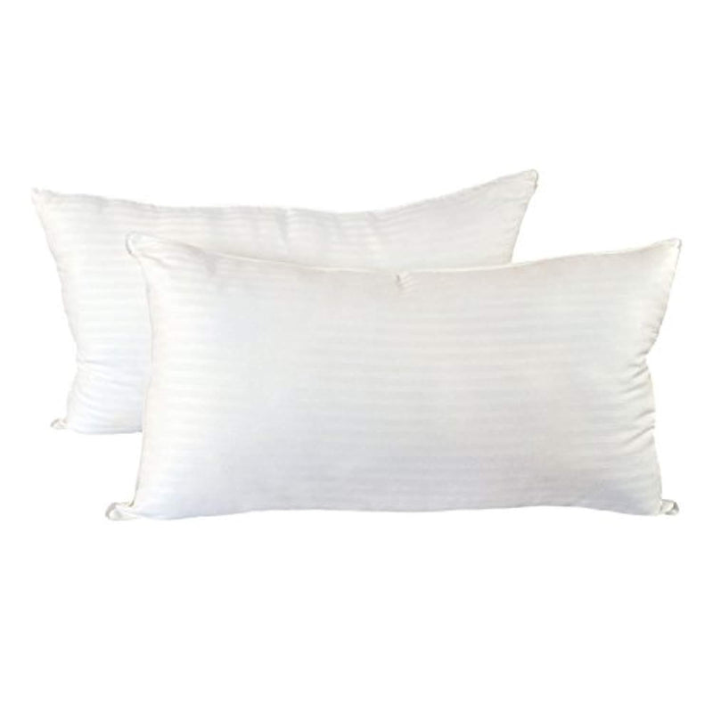 Cozy Bed Medium Firm (Set of 2) Hotel Quality Pillow King White 2 Piece