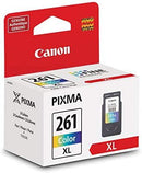Canon Ink Canon CL-261XL Amr Printer Ink, Extra Large, Multi