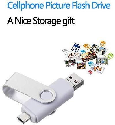Android Flash Drive 64GB, ARETOP 3-in-1 Photo Stick for Android Phones (Both Micro and Type-C) Memory Stick Type C Micro USB Thumb Drive for Android 64gb Pen Drive