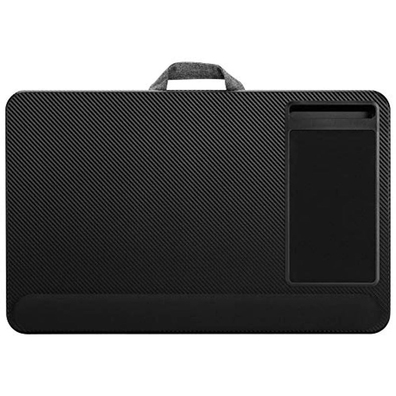 "LapGear Home Office Pro Lap Desk - Black Carbon (Fits up to 17.3"" Laptop)"