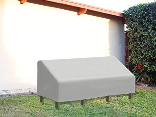 FLYMEI Patio Lounge Deep-Seat Sofa Cover, 32 x 39 x 29 Inches