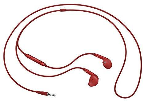 Samsung Active InEar Headphones for Universal/SmartPhones - Retail Packaging - Red - EO-EG920LREGUS