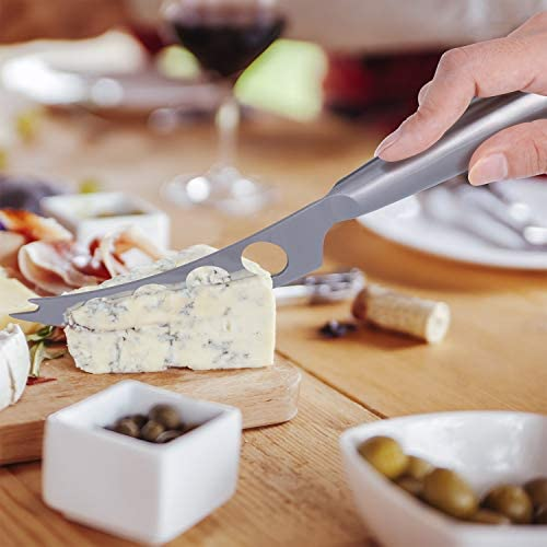 Home Perspective Premium 6-Piece Cheese Knife Set - Complete Stainless Steel Cheese Knives Gift Knives Sets Collection, Suit for the Wedding, Lover, Elders, Children and Friends