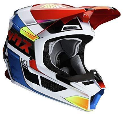 Fox Racing Yorr Men's V1 Off-Road Motorcycle Helmet - Multi/Medium