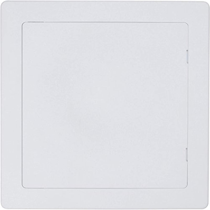 Wallo 10 X 10-Inch Plastic Access Door, Reinforced Hinged Access Panel for Drywall Walls and Ceilings. Perfect for providing service area for Plumbing/Wiring Applications and Electrical Access Panel