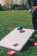 Plastic Cornhole Boards by Legit Sports | Cornhole with Weighted Bean Bags | Lightweight and Durable Materials | Cornhole Set | Corn Hole Outdoor Game That's Great for Travel, Camping, Parties