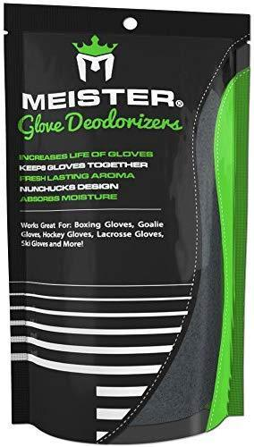 Meister Glove Deodorizers for Boxing and All Sports - Absorbs Stink and Leaves Gloves Fresh