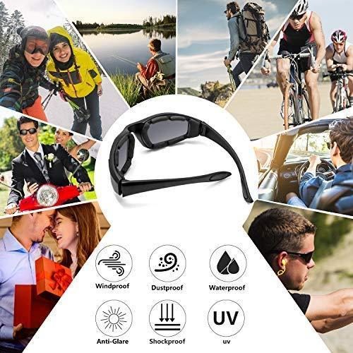 3 Pair Motorcycle Riding Glasses Padding Goggles UV Protection Dustproof WindproofMotorcycle Sunglasses with Clear Lens for Outdoor sports Actives