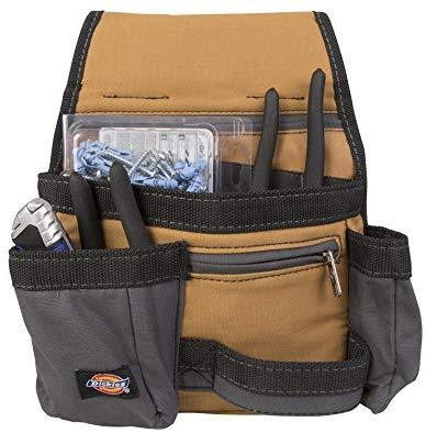 Dickies Work Gear 57019 Grey/Tan 11-Pocket Tool Pouch