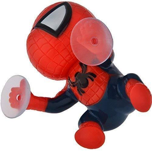 ElementDigital(TM) Cute Super Hero Spider-man Doll Toy with Suction Cups Car Accessories Auto part (2 PC)