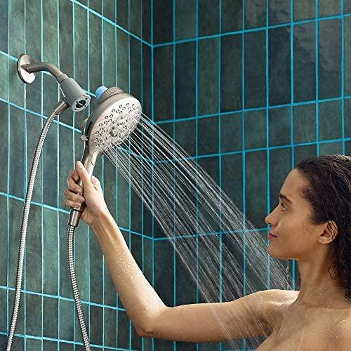 VOLUEX IN208C2 Aromatherapy Combination Handshower and Rainshower with INLY Shower Capsules, Chrome