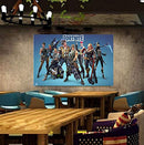 "AMAZING DECALZ FORTNITE Graphic Broken Wall 3D Sticker Decal Removable Mural Decor Art Wallpaper Baby Kids Children Nursery Living Room Peel & Stick Vinyl (Large (Height 23.5""x 35.5"" Wide))"