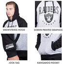 Ultra Game NFL Standard Fleece Hoodie Pullover Sweatshirt University