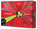 Callaway Golf Chrome Soft Truvis Golf Balls, (One Dozen)