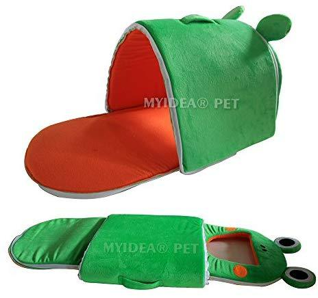 MYIDEA Hamster Guinea Pig Bed - Small Animal Portable Cage Supplies Handing House Hideout for Rat/Hedgehog/Ferret/Chinchilla/Rabbit Small Animal Bedding