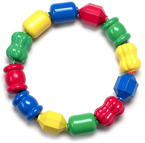 Gemybeads Snap Lock Bead Shapes, 12 Colorful Beads