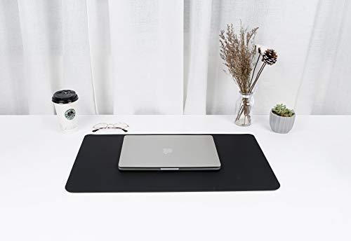 "Writing Desk Pad,for Table, YSAGi Anti-Slip Thin Mousepad for Computers,Office Desk Accessories Laptop Waterproof Dual-Sided Desk Protect for Office Decor and Home (Pink, 23.6"" x 13.7"")"