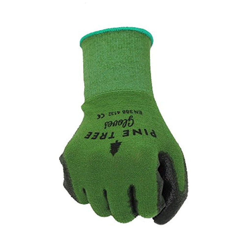 Pine Tree Tools Bamboo Working Gloves for Women and Men. Ultimate Barehand Sensitivity Work Glove for Gardening, Fishing, Clamming, Restoration Work & More. S, M, L, XL, XXL (1 Pack M)