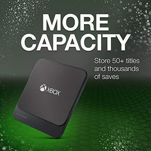 Seagate Game Drive for Xbox 2TB External Hard Drive Portable HDD – Designed for Xbox One (STEA2000403)