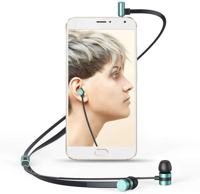 Earphones, Earbuds, in-Ear Headphones Noise Isolation Headsets Heavy Bass Earphones with Microphone Compatible iPhone Samsung iPad and Most Android Phones