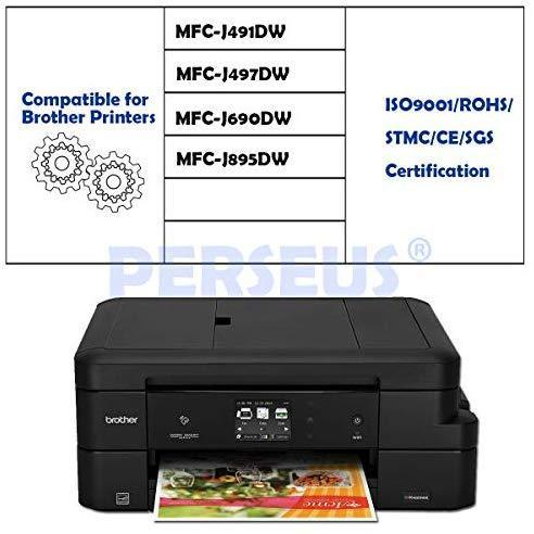 PERSEUS Compatible Ink Cartridge Replacement for Brother LC3029 Super High Yield XXL, Works with MFC-J6935DW MFC-J5830DW MFC-J6535DW MFC-J5930DW MFC-J5830DWXL Printer, LC3029BK LC30293PKS Pack of 4