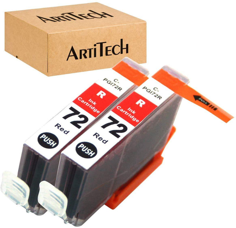 ArtiTech Replacement for Canon PGI-72 C PGI-72 Cyan Compatible Ink Cartridges Work for Canon PIXMA Pro-10 PIXMA Pro-10S Printers,2 Pack PGI-72 Cyan