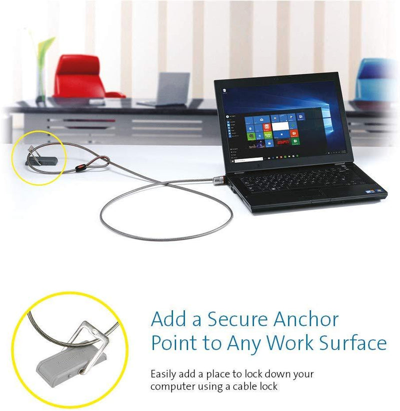 Kensington Desk Mount Anchor Accessory for Cable Locks (K64613WW)