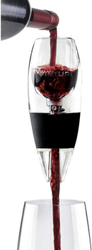 Andre Lorent  Red Wine Aerator Includes Base Enhanced Flavors with Smoother Finish, Black