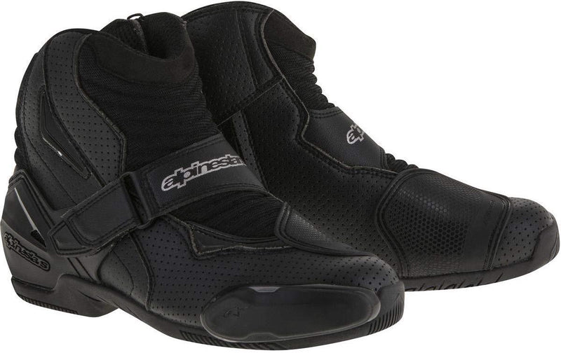Alpinestars SMX-1R Vented Men's Street Motorcycle Shoes - Black / 42