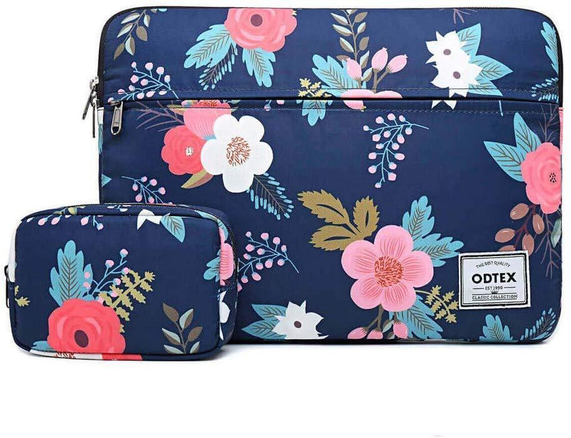 ODTEX 15 Inch Laptop Bag Water-Resistant Sleeve Case and Shockproof Carrying Bag with Pocket and Accessories Bag-Dazzle color
