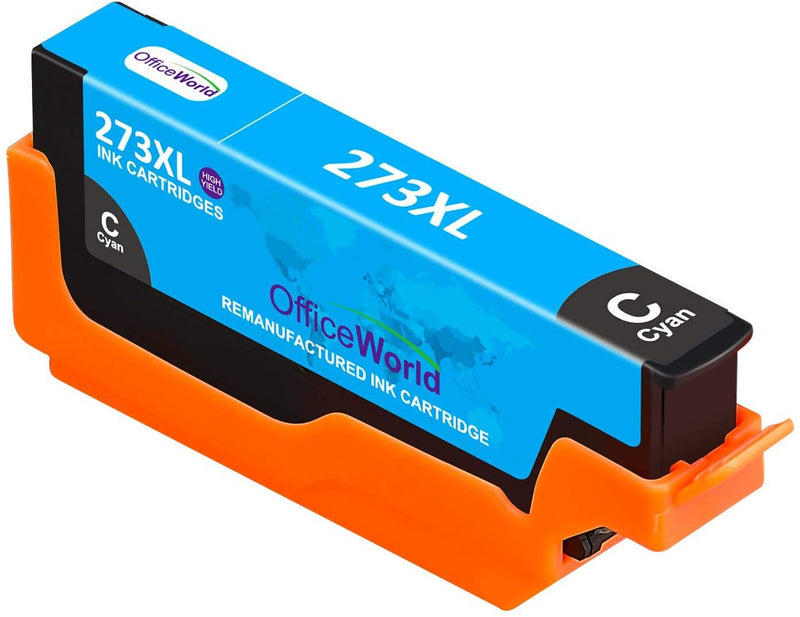 OfficeWorld Remanufactured Ink Cartridge Replacement for Epson 273 273XL 273 XL T273XL Used for Expression XP520 XP820 XP620 XP610 XP800 XP810 XP600 Printer, 5-Pack (1PB/1BK/1C/1M/1Y, High Yield)