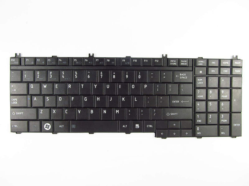 Generic New Keyboard For Toshiba Satellite P300 P200 P205 P305 L350 L355 P505 P500 L505 A500 A505 Qosimio G50 X300 X305 Black NSK-TBD01 US