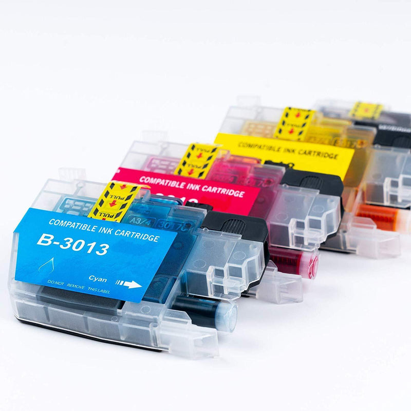 DIGITONER Compatible Ink Cartridge Replacement for Brother LC3013 LC-3013 LC 3013 ink Cartridges Brother MFC-J491DW MFC-J497DW MFC-J690DW MFC-J895DW Printer [2 Black 2 Cyan 2 Magenta 2 Yellow, 8 Pack]