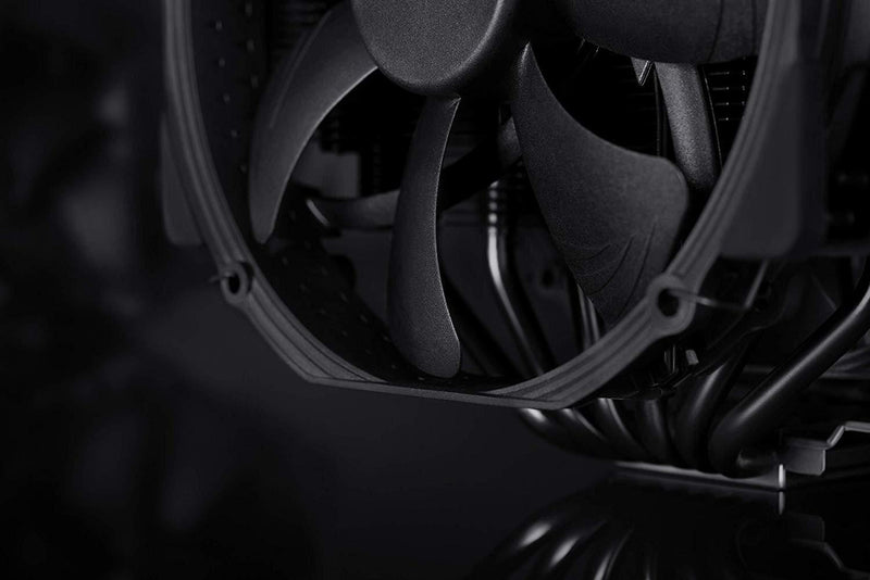 NOCTUA NH-D15 chromax.Black, 140mm Dual-Tower CPU Cooler (Black)