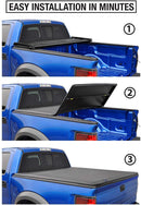 Tyger Auto T3 Tri-Fold Truck Bed Tonneau Cover TG-BC3J1060 Works with 2020 Jeep Gladiator (JT) | Without Rail System