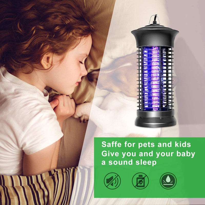 Nozkito Loytio Bug Zapper, Electric Mosquito Killer, Fly Insect Trap Indoor, Mosquito Trap for Home, Bedroom, Kitchen, Office