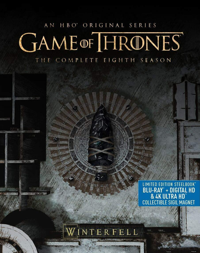 Game of Thrones: S8 (4KUHD + Blu-ray + Digital)