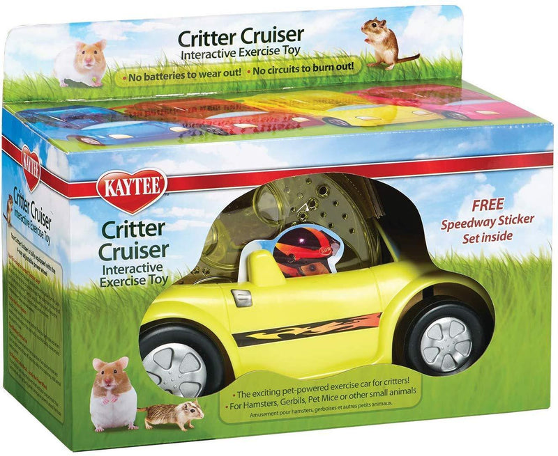 Kaytee Critter Cruiser Small Animal Toy, Colors Vary